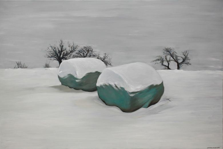 Oil on Canvas 2011 Image size 150cm W x 100cm H