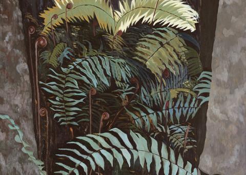 Oil on Canvas 2005 Image size 80cm W x 100cm H
