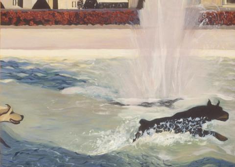 Oil on Canvas 2002-2003 Image size 100cm W x 81cm H